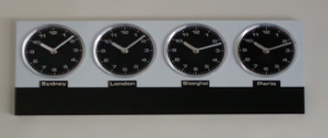 Analogue 4 Zone Clock