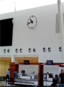 Adelaide Airport Wall Clock