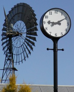Adelaide to Melbourne Street Clock