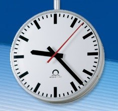 metroline outdoor clock