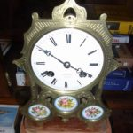 French clock made by H RY A Paris
